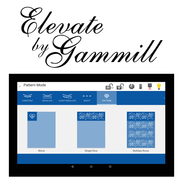 Elevate Quilting System by Gammill
