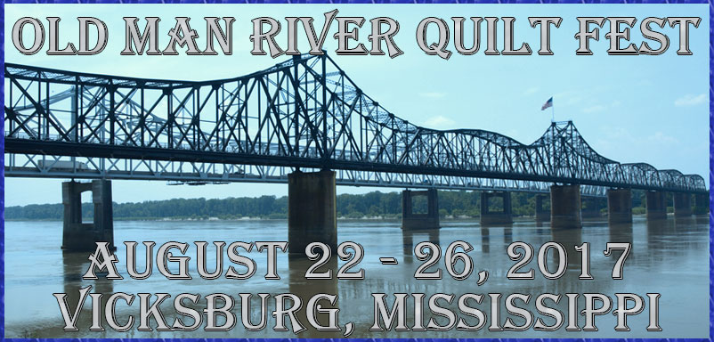old man river quilt fest
